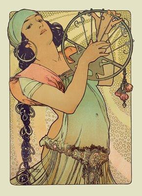 Η Σαλώμη από τον Mucha (την πήρα από ένα πολύ ωραίο blog, κάντε κλικ στην εικόνα)